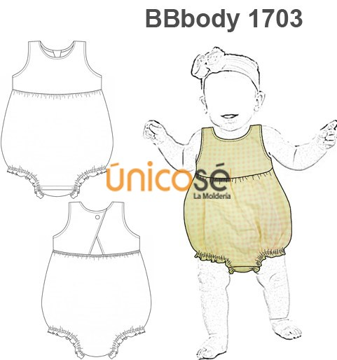 BODY BEBÉ BUBBLE ROMPER